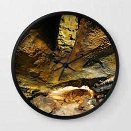 Lava tube cave Wall Clock
