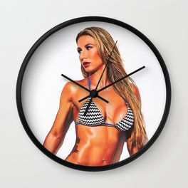 Cats Can Swim Wall Clock