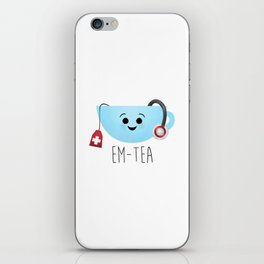 EM-Tea iPhone Skin