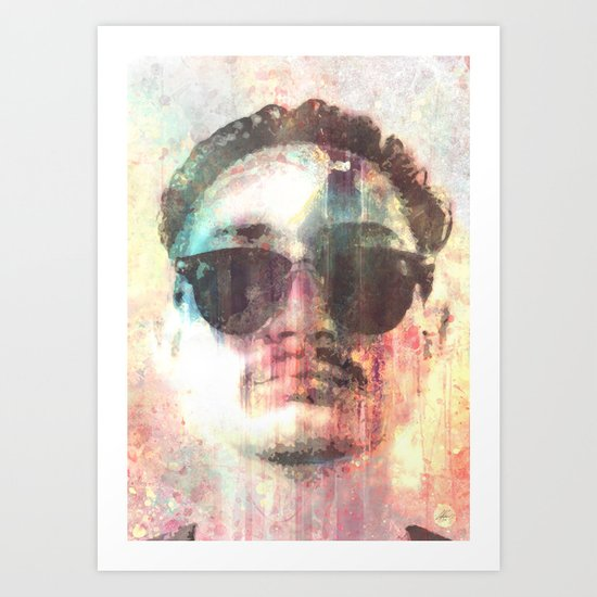 AUTOPORTRETIONUTNECHIFOR Art Print
