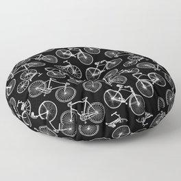 Bicycle 1 Floor Pillow