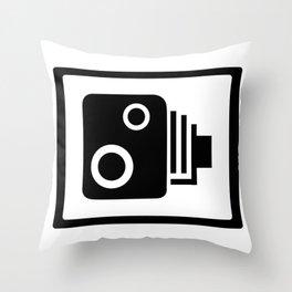 Sopeed Camera Throw Pillow