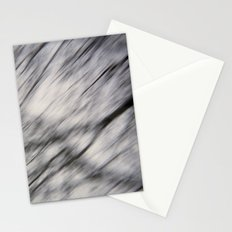 Blurry Tree Branches  Stationery Cards