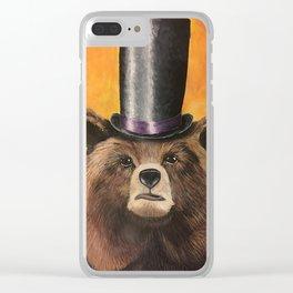 Edward von Fancybear Clear iPhone Case