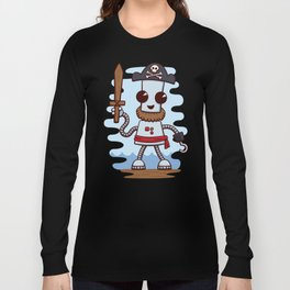Pirate Ned Long Sleeve T-shirt
