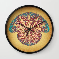 Medusa Barroca Wall Clock