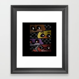 Freddy and Friends are Ready! Framed Art Print