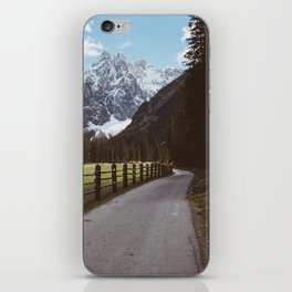 Let's hike together - Landscape and Nature Photography iPhone Skin