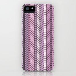 Purple Optical Illustion iPhone Case
