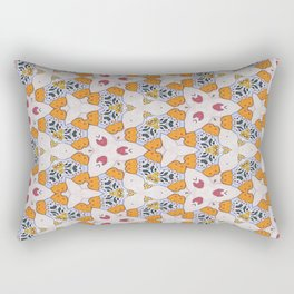 Pollen War Rectangular Pillow