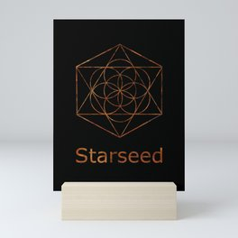 Seed of Life Starseed Symbol Mini Art Print