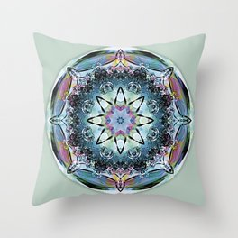 Mandalas from the Heart of Truth 2 Throw Pillow