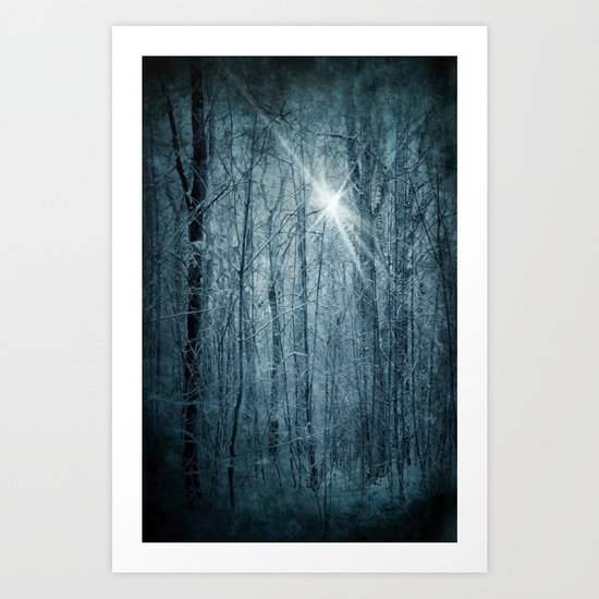 Unknown star Art Print