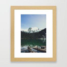 joffre lakes (5) Framed Art Print