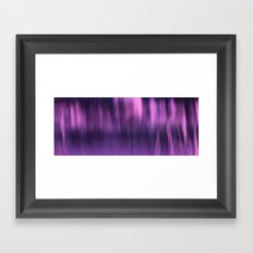 PURPLE PANNING Framed Art Print