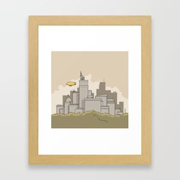 City #2 Framed Art Print