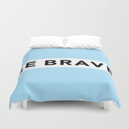 BE BRAVE Summer COLLECTION Blue Duvet Cover