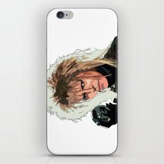D. Bowie, inside the labyrinth iPhone & iPod Skin
