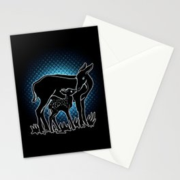 Doe And Fawn Stationery Cards