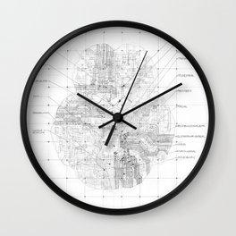 Cerebral Wall Clock