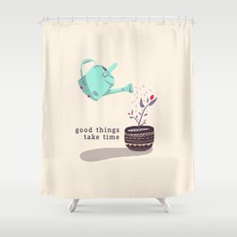 good things Shower Curtain