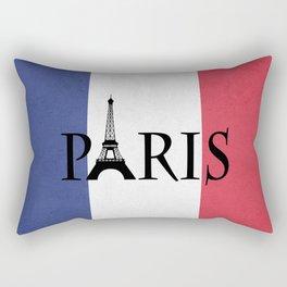 Grunge Paris Rectangular Pillow