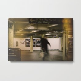 Subway Station Metal Print