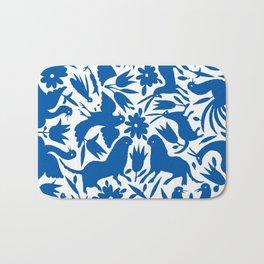 otomi blue Bath Mat