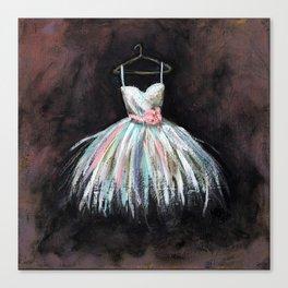 Ballerina Dress 3 - Painting Canvas Print