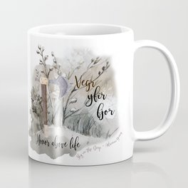 Sky in the Deep Viking quote Coffee Mug