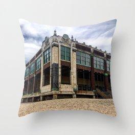 Asbury Park, NJ Convention Hall 08/23/2015 Throw Pillow