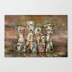 for washing dishes ! Canvas Print