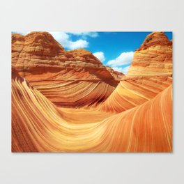 """Sands of Time"" - The Wave, Arizona Canvas Print"