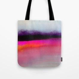 Pink Silver Tote Bag