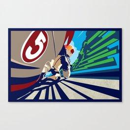 full throttle Canvas Print