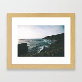 Oregon Coast IX Framed Art Print