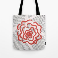 lolita Tote Bags featuring Lolita by Lina Elyse Patton