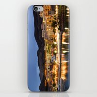 cityscape iPhone & iPod Skins featuring CityScape by Susan's  Shop