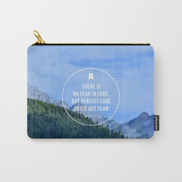 1 John 4:18 Carry-All Pouch