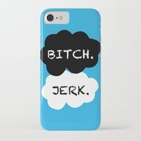 the fault iPhone & iPod Cases featuring Supernatural Fault by ElectricShotgun