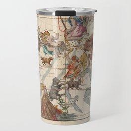 Ignace-Gaston Pardies - Globi coelestisPlate 3: Gemini, Orion, Taurus and other constellations 1693 Travel Mug
