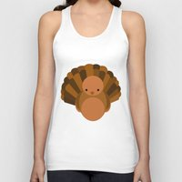 turkey Tank Tops featuring Turkey by StephyLe