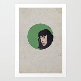 JANE MARGOLIS Art Print