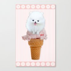 Two scoops Canvas Print