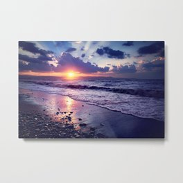 Cyprus. 30 seconds before sunse. Metal Print