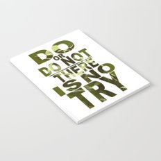 Star Wars Yoda Do or Do Not Notebook