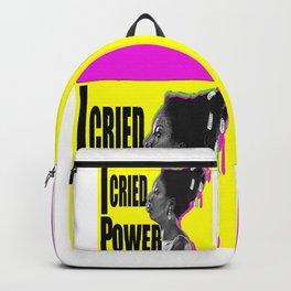 The High Priestess/I Cried POWER Backpack