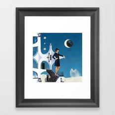 Architecton Framed Art Print