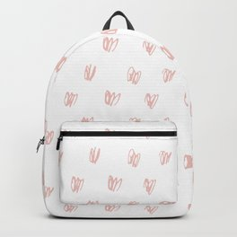 Be My Valentine - Heart Pattern Backpack