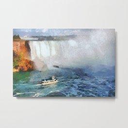 Niagara Falls - Maid of the Mist Metal Print